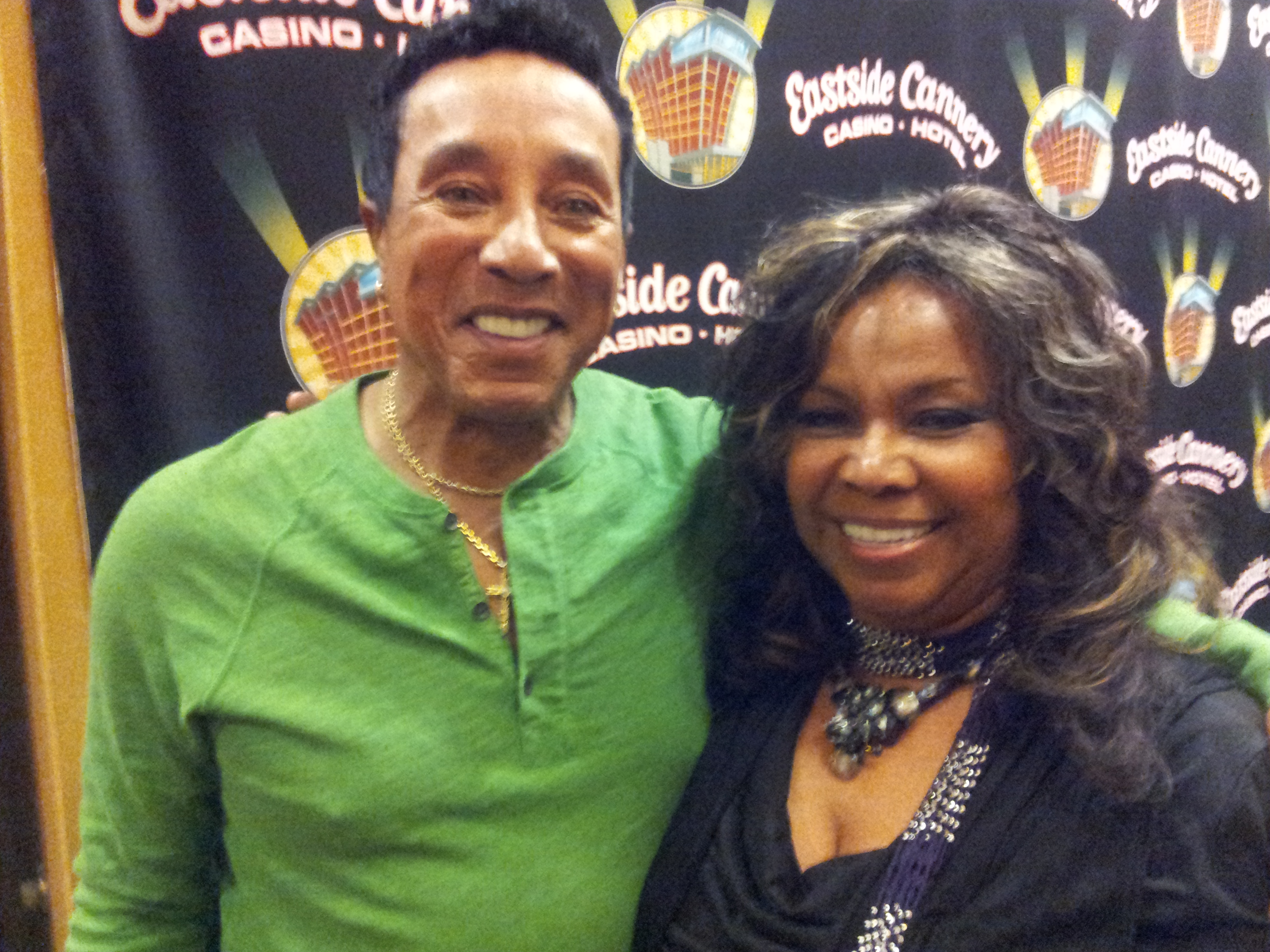 2 Kristy with Smokey Robinson