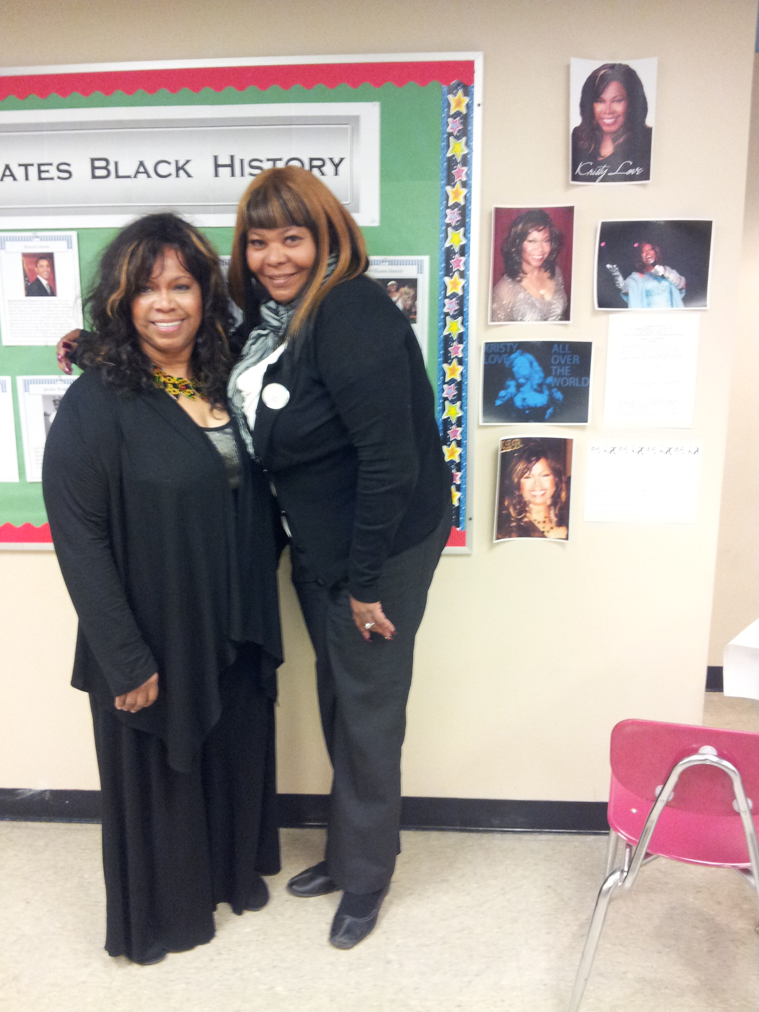 7 Kristy celebrated at Black History